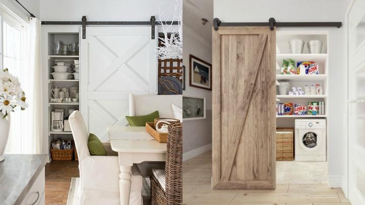Las puertas graneros pueden servir para decorar de forma for Puerta granero madera